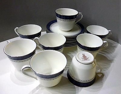 Royal Doulton Sherbrooke Cups & Saucers Set Of 4 - 2 Set Available