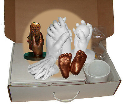 PARTY PACK STARTER LIFE CASTING KIT Infant Child Family Hands Foot - Makes 16+