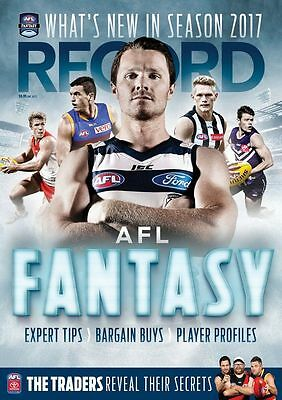 2017 AFL Record Premiership League Fantasy Supercoach Guide Tips Player Profiles