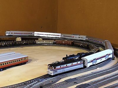 Marklin 43600 Amtrak Streamliner train 6 cars New condition updated DCC/LED