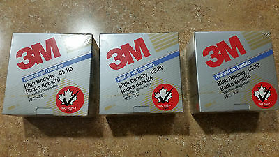3X Brand new sealed pack of 3M 10x Diskettes 3.5""