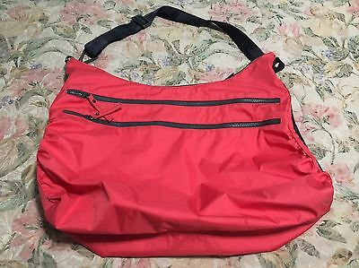 Lululemon On The Go Gym Bag Tote Permission And Grey RARE
