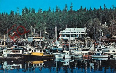 Postcard: British Columbia, Lund, Commercial Fishing Fleet