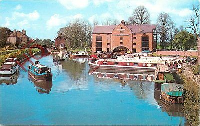Postcard: Trent And Mersey Canal, Shardlow Basin