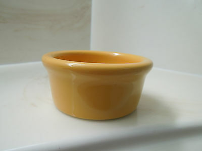 HF Coors Yellow Mustard Small Porcelain Bowl
