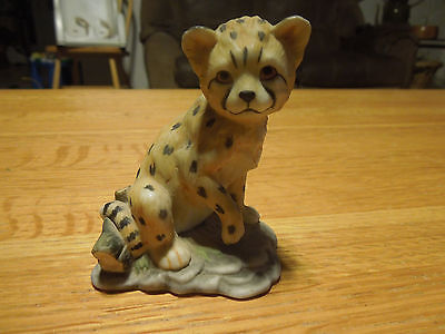 Baby Animals of the World Cheetah Royal Cornwall Porcelain Wild Cat Linda Powell