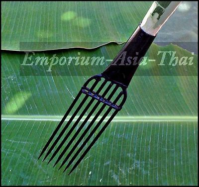 057: Thai 7 Pronged Hand Spear Fishing Head - Fish Frog Reptile Primative Tool