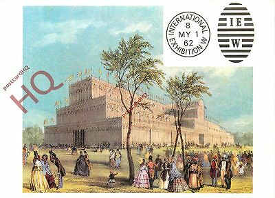 Postcard: National Postal Museum, 1851 Exhibition, Crystal Palace
