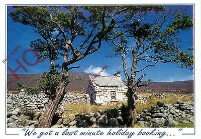 Postcard: Stone Cottage, We Got A Last Minute Holiday Booking (Humour)