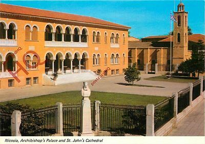 Postcard: Cyprus, Nicosia, Archibishop's Palace And St. John 'S Cathedral