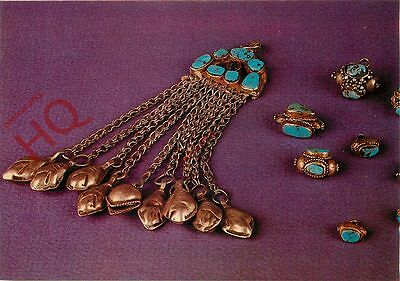 Postcard: Saudia Arabia, Arabian Buttons And Head-Dress Jewel