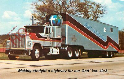 Postcard: The Association Of Christian Truckers, 'Spirit Of The Road'