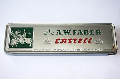 Vintage Pencils. A.W.Faber Castell, H 9000 Germany