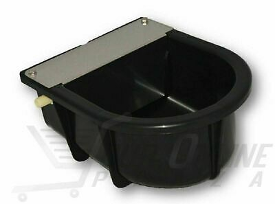 2x Automatic float valve 9 L water trough drinking bowl chicken cattle horse