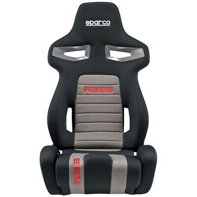 Sparco R333 Forza Sport Track / Road Car Seat - Black / Grey / Red