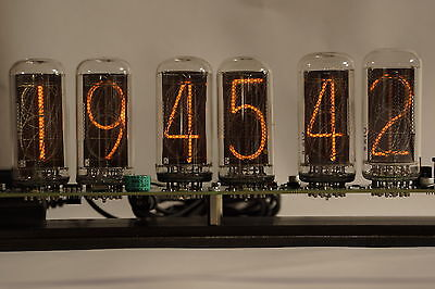 NIXIE Clock with big IN-18 tubes INCLUDED
