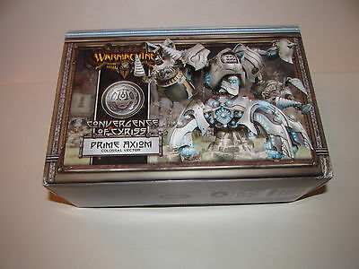 Warmachine: Convergence of Cyriss Prime Axiom Colossal Vector Box PIP 36018