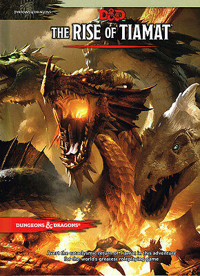 Dungeons & Dragons 5. Edition Rise of Tiamat Adventure Englisch