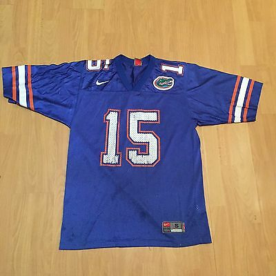 FLORIDA GATORS NIKE TEBOW 15 AMERICAN FOOTBALL JERSEY MENS SIZE S Small
