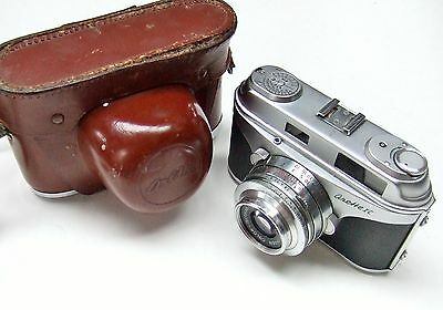 ARETTE 1C  CAMERA WITH f2.8 50mm COLOR-ISCONAR LENS + CASE