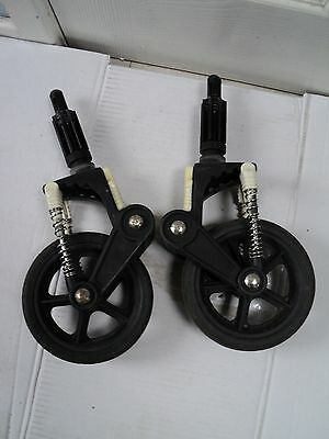 Used Bugaboo Cameleon front wheels Will fit cam1 & 2*
