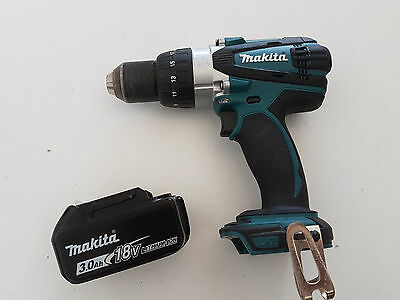 Makita 18v Drill and 3Ah Battery - Near new condition, Free post