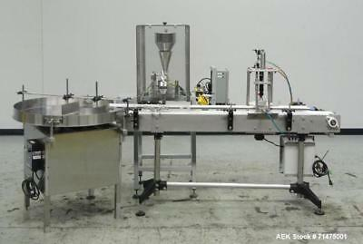Used- Actionpac Model MICRO109CL/I Linear Scale Container Filler. Designed for g