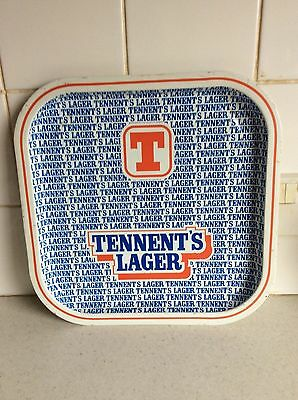 Tennent's Lager Pub Bar Tray