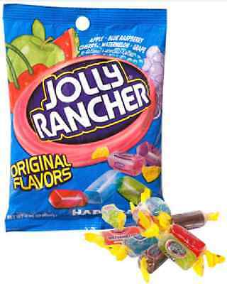 Jolly Rancher Hard Candy Original Flavor 3.8 oz. New Sealed Bag