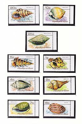 s14215) SHELLS MARINE LIFE - MNH**+FDC Gren. Guinea Indonesia... (4 scans)