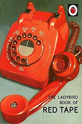Red Tape Humour Ladybird Book Grown Ups Adult Home Gift Xmas