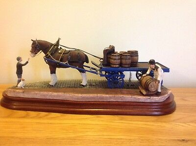 Very Rare Large Border Fine Arts  Guinness Dray Limited Addition