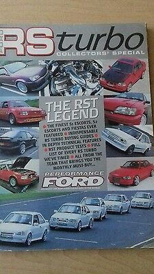ford rs turbo collectors special by performance ford magazine