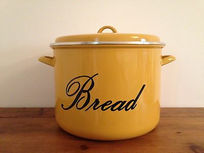 Vintage/retro Judge enamel bread bin