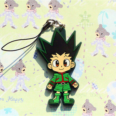 HUNTER X HUNTER GON FREECSS PVC Figure Cell Phone Chain Strap Detailed Charm