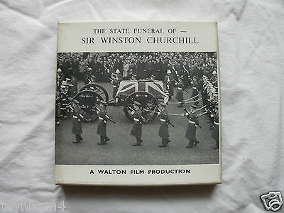 Walton The State Funeral of Sir Winston Churchill 8mm film production.