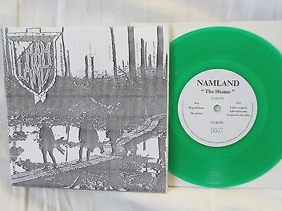 """NAMLAND S/T 5-Song 7"""" EP 1990 US Crust Punk KBD DISCHARGE POISON IDEA NM!"""