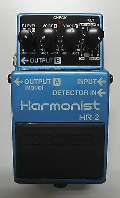 BOSS HR-2 Harmonist Guitar Effects Pedal Pink Label