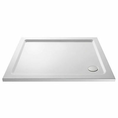 Pearlstone Rectangular Low Profile Shower Tray 1100 x 800 x 40mm