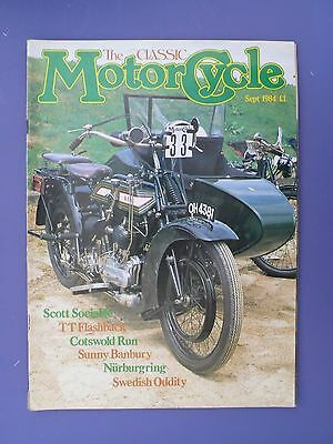 The Classic Motorcycle Magazine - Sept 1984 issue