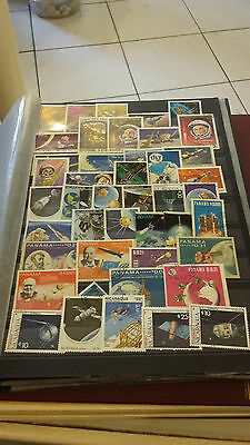 Timbres Thematiques Espace