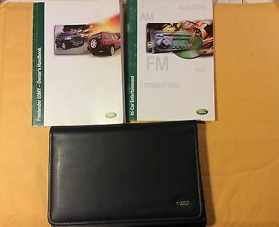 2003 Land Rover Freelander Owners Manuals and Wallet