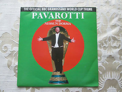 Pavarotti - Sings Nessun Dorma The Official Bbc Grandstand World Cup Theme 1990
