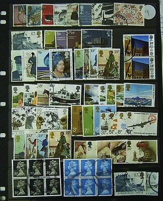 Great Britain Used Decimal Stamps Including Sets (Lot 9)