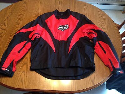 Fox Racing 360 Motorcross Enduro Off Road Jacket Mens Size Large