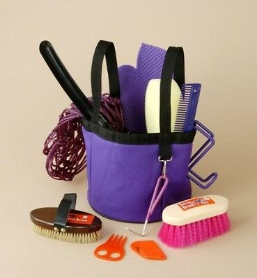 Show Time Groomers Set W/Tote Blue
