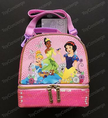 DISNEY Store LUNCH Tote DISNEY PRINCESS School Box 2017 NWT