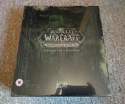 World of Warcraft Burning Crusade Collectors Edition (New & Sealed)