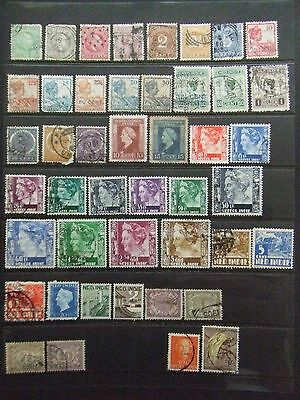 Netherlands Indies including high values