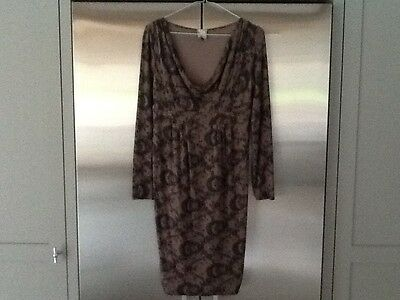 Topshop maternity dress sophisticated lace design 8